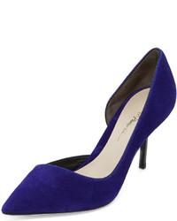 Zapatos de tacón azul marino de 3.1 Phillip Lim