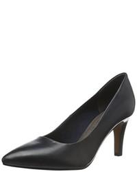 Zapatos de tacón azul marino de s.Oliver