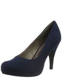 Zapatos de tacón azul marino de Tamaris