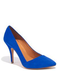 Zapatos de tacon azules original 1630095