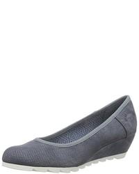 Zapatos de tacón azules de s.Oliver