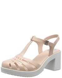 Zapatos de Tacón Beige de Zaxy
