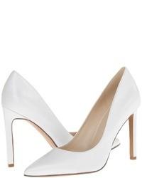 Zapatos de tacon blancos original 1631013