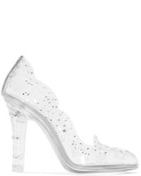 Zapatos de tacón blancos de Dolce & Gabbana