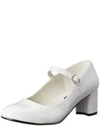 Zapatos de tacón blancos de Funtasma
