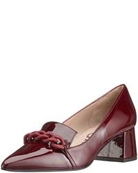 Zapatos de tacón burdeos de Paco Gil