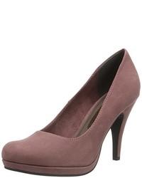 Zapatos de tacón burdeos de Tamaris