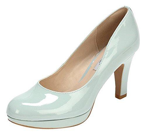 88453271a7109 ... Zapatos de tacón celestes de Clarks ...