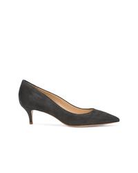 Zapatos de Tacón de Ante Gris Oscuro de Marion Parke