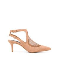 Zapatos de tacón de ante marrón claro de Alexander Wang