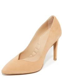 Zapatos de tacón de ante marrón claro de IRO