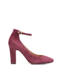 Zapatos de Tacón de Ante Morado de L'Autre Chose
