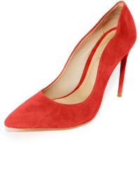 Zapatos de Tacón de Ante Naranjas de Schutz