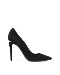 Zapatos de tacón de ante negros de Alexander Wang