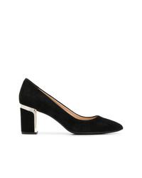 Zapatos de tacón de ante negros de DKNY