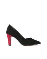 Zapatos de tacón de ante negros de Loveless