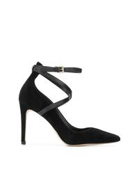 Zapatos de tacón de ante negros de MICHAEL Michael Kors