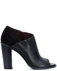 Zapatos de tacón de ante negros de Rag & Bone