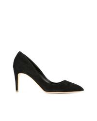 Zapatos de tacón de ante negros de Rupert Sanderson