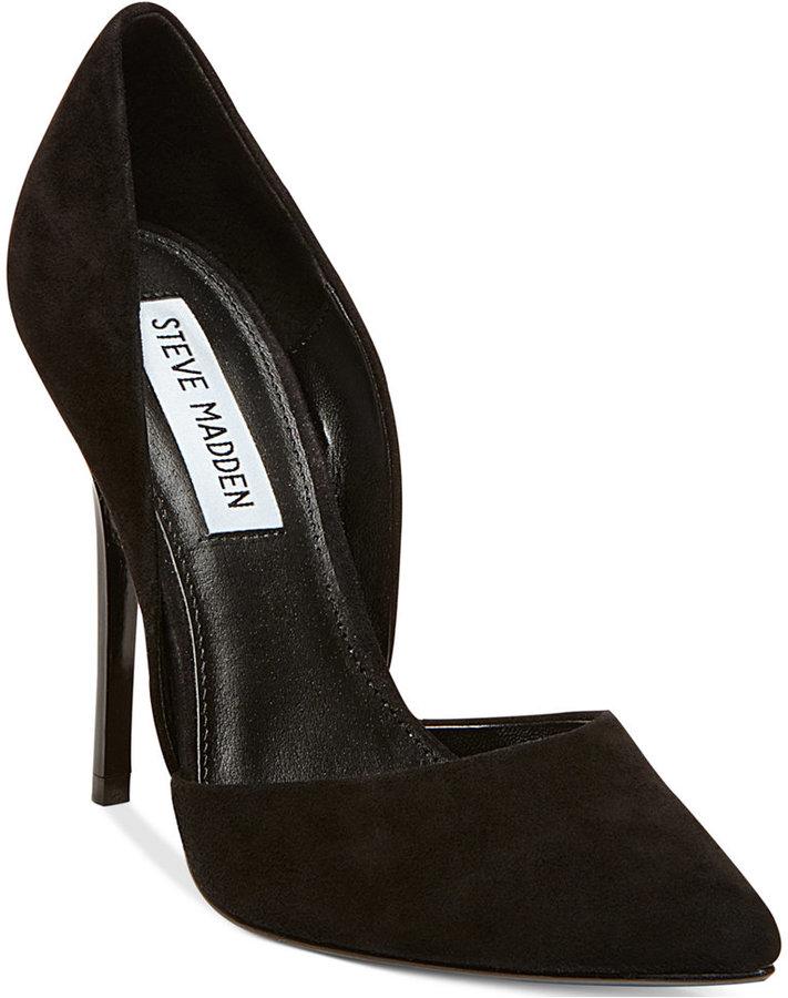 Zapatos negros Steve Madden para mujer 8IHkD4EBIR
