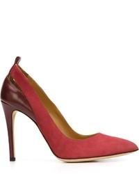 Zapatos de tacón de ante rojos de IRO