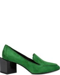 Zapatos de tacón de ante verdes de Pierre Hardy