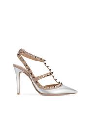 Plateados Unos ValentinoModa Zapatos Mujeres Para Comprar 0Nnwvm8O