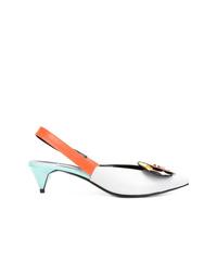 Zapatos de tacón de cuero en multicolor de Pierre Hardy