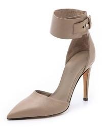 Zapatos de tacón de cuero grises de Vince