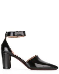Zapatos de Tacón de Cuero Negros de Paul Smith