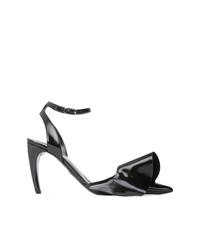 Zapatos de tacón de cuero negros de Proenza Schouler