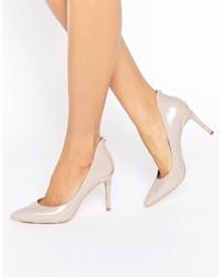 Zapatos de Tacón de Cuero Rosados de Ted Baker