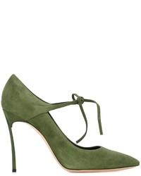 Zapatos verde oliva para mujer snYuYqA