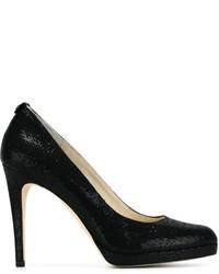 Zapatos de Tacón de Lentejuelas Negros de MICHAEL Michael Kors