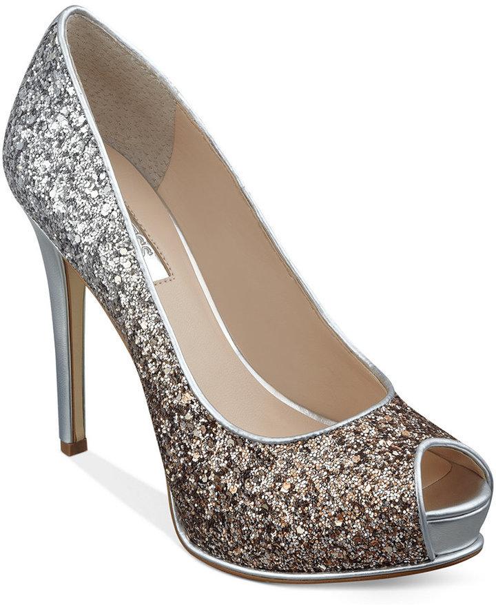Zapatos plateado formales Guess para mujer J5EcD03D