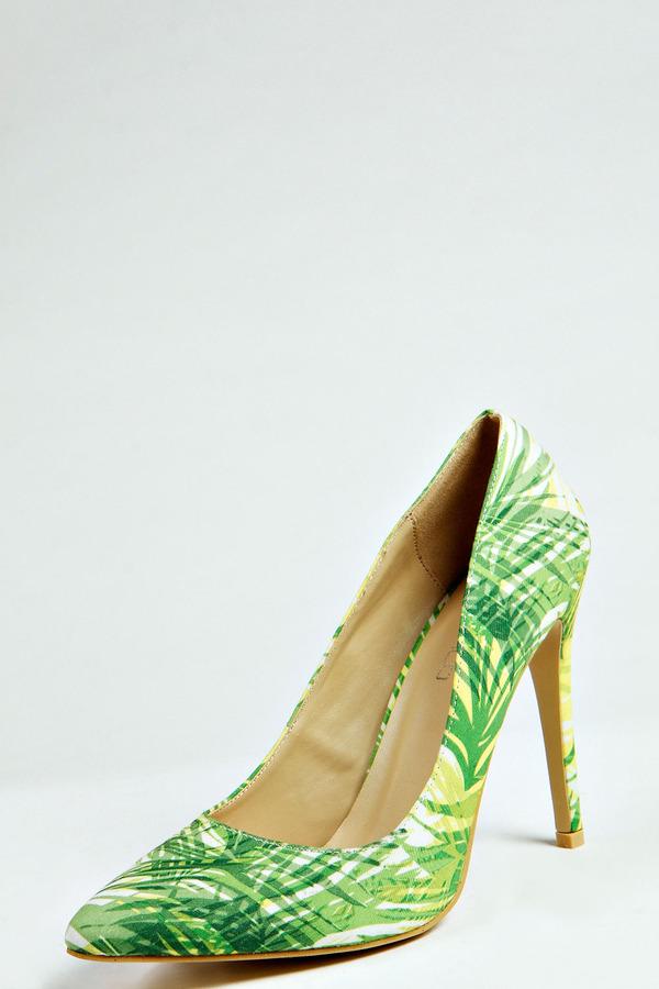 Zapatos verdes Boohoo para mujer tGaV1RZP