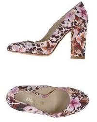 Zapatos de tacón de lona