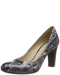 Zapatos de tacón en gris oscuro de Geox