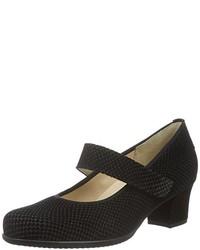 Zapatos de tacón en gris oscuro de Hassia