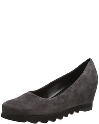Zapatos de tacón en gris oscuro de Högl