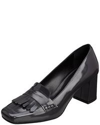 Zapatos de tacón en gris oscuro de Primafila