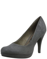 Zapatos de tacón en gris oscuro de Tamaris