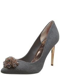 Zapatos de tacón en gris oscuro de Ted Baker