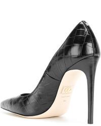 Zapatos de tacón en marrón oscuro de Dsquared2