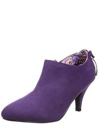 Zapatos de tacón en violeta de Joe Browns
