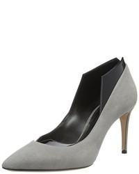 Zapatos de tacón grises de Casadei