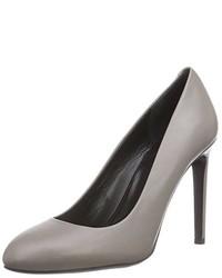 Zapatos de tacón grises de Hugo Boss