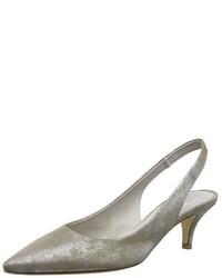 Zapatos de tacón grises de Kennel und Schmenger Schuhmanufaktur