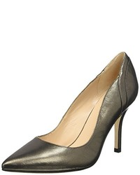 Zapatos de tacón grises de Pennyblack