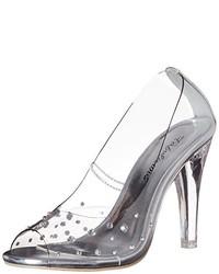 Zapatos de tacón grises de Pleaser